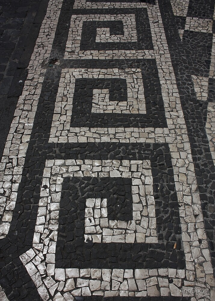 Pavement in Madeira by AnnDixon