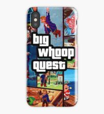 Big Whoop Quest iPhone Case