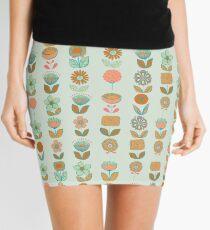 Abstract Garden Neon Zombie Mini Skirt