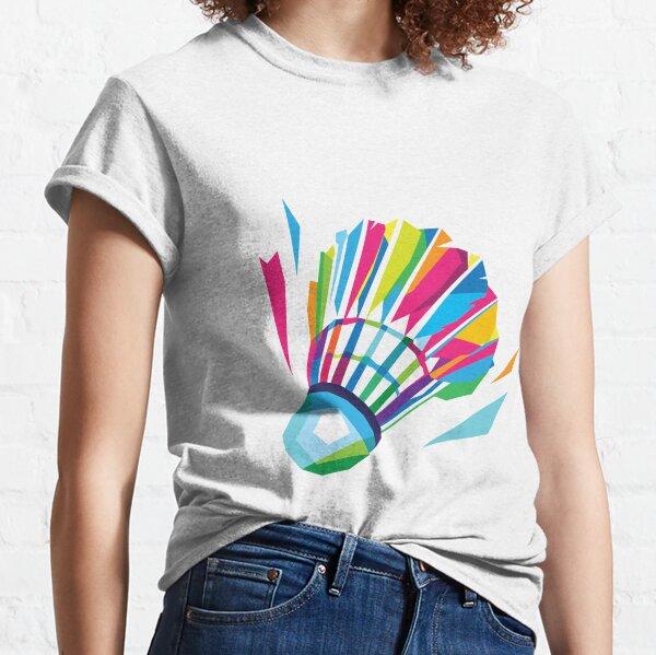 Badminton Shuttlecock Classic T-Shirt