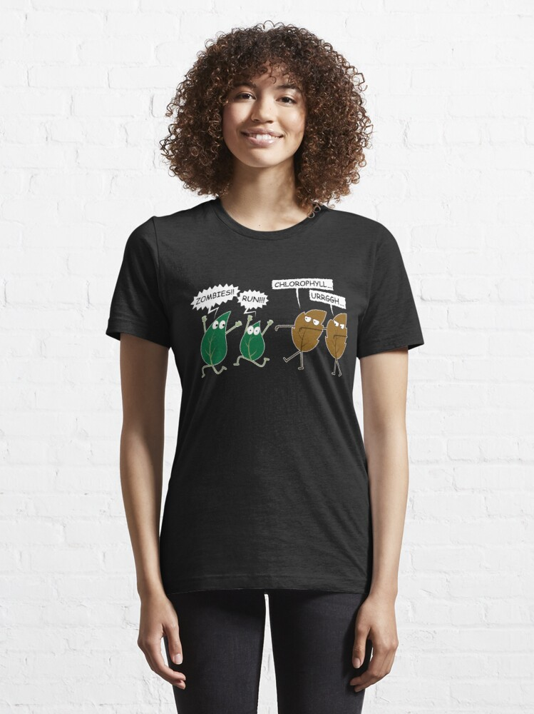 Alternate view of Funny Vegan Zombie Leaves - Amazing Vegan Quote Gift Essential T-Shirt