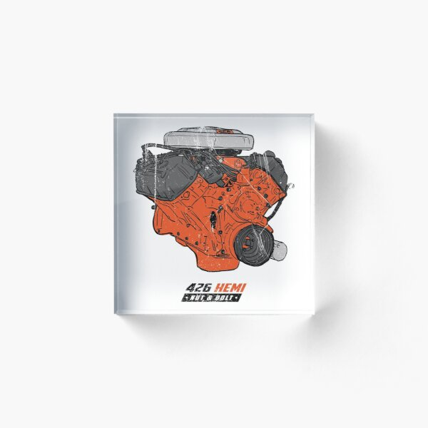 Dodge Chrysler Hemi 426 V8 Muscle Car Mopar Engine Acrylic Block