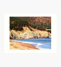Aspy Bay,Cape Breton Art Print