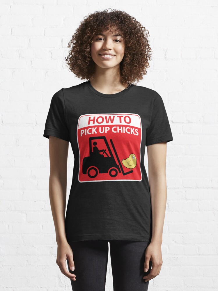 Alternative Ansicht von How To Pick Up Chicks - Funny Dating Quote Gift Essential T-Shirt