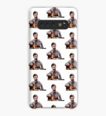 Jake Peralta screaming with guitar Case/Skin for Samsung Galaxy