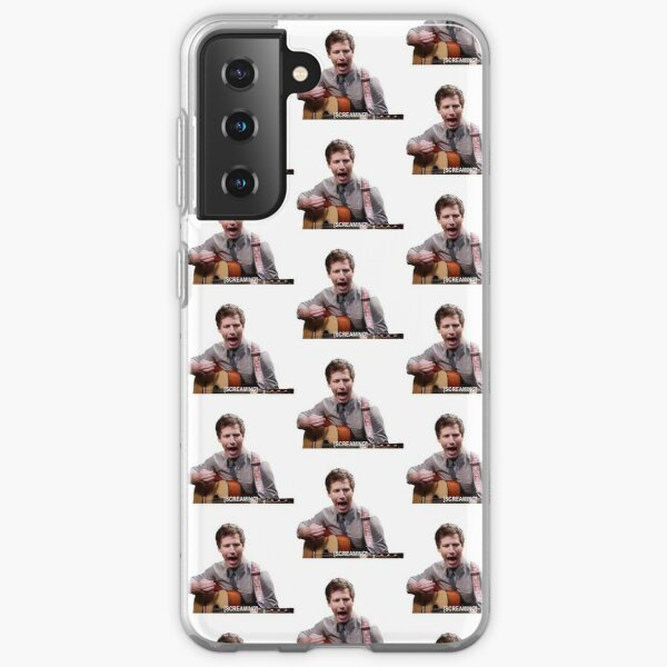 Jake Peralta screaming with guitar Samsung Galaxy Soft Case