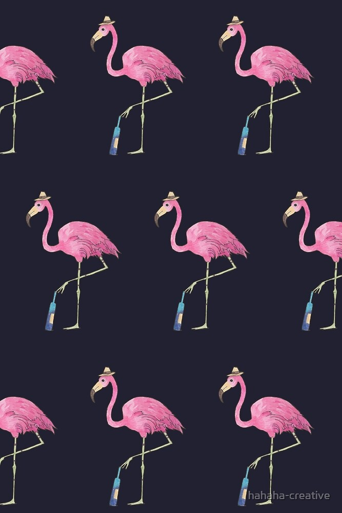 Flamingo_one more or not ? by hahaha-creative