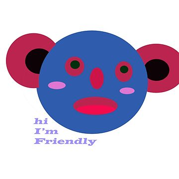 friendly design by ezra054