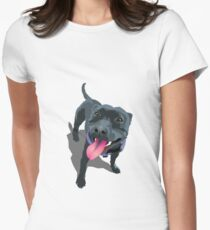 Staffy Women's Fitted T-Shirt