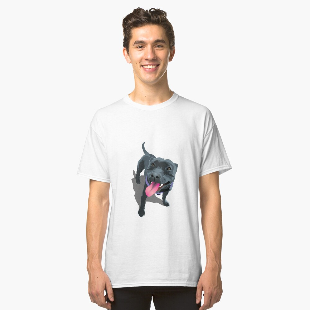 Staffy Classic T-Shirt Front