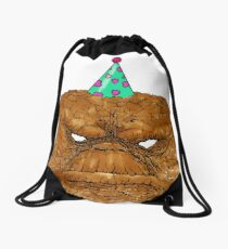 Monster Party Drawstring Bag