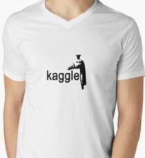 kaggle goose Men's V-Neck T-Shirt