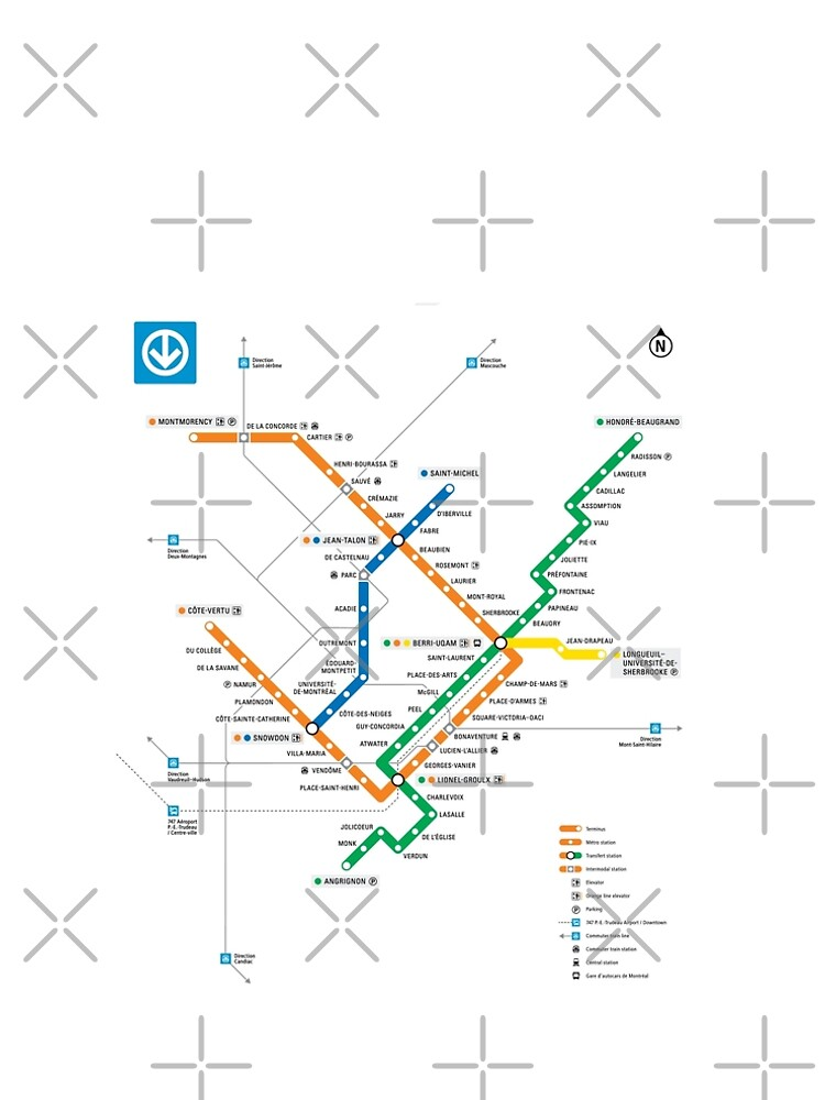 Montrela Subway Map.Stm Montreal Metro Subway Map Light White Background Carte Du Metro De Montreal 2018 Ultra High Quality And Big Size Prints A Line Dress
