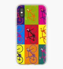 Fahrrad Andy Warhol Pop Art iPhone-Hülle & Cover