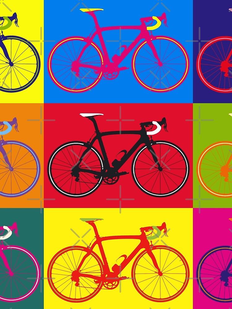 Fahrrad Andy Warhol Pop Art von sher00