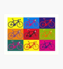 Bike Andy Warhol Pop Art Art Print