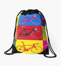 Bike Andy Warhol Pop Art Drawstring Bag