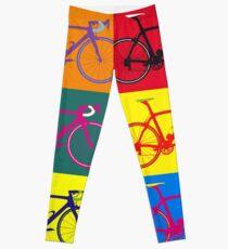 Fahrrad Andy Warhol Pop Art Leggings