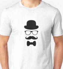 disguise glasses hat man Unisex T-Shirt