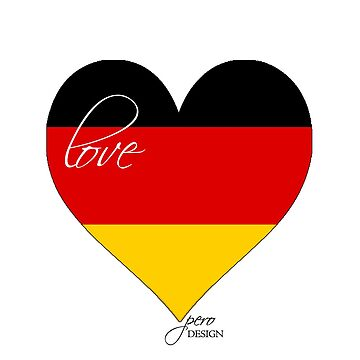 Heart germany by peroDESIGN