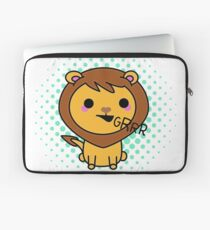 Aki the kawaii lion Laptop Sleeve