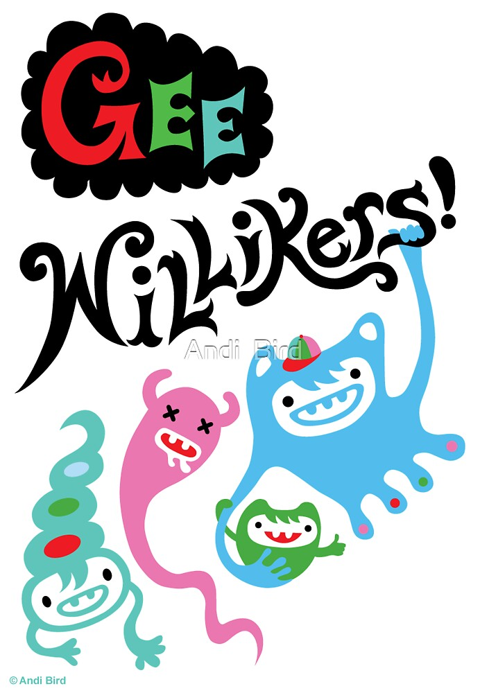 Gee Willikers - card by Andi Bird