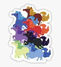 My Little Primal Ponies Sticker