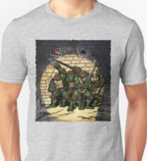 Ninja Turtles Classic Defence Stand Unisex T-Shirt