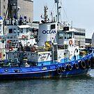 Giant Tug Boat of Quebec _ Port Quebec! by Poete100