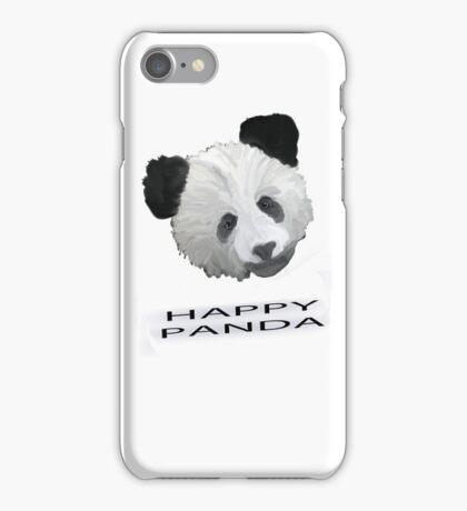 Happy Panda Tee, Iphone Case, Card iPhone Case/Skin