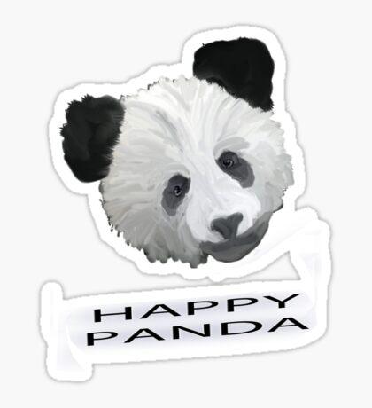 Happy Panda Tee, Iphone Case, Card Sticker