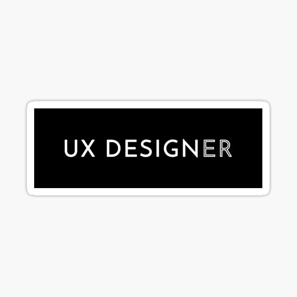 UX Designer Sticker