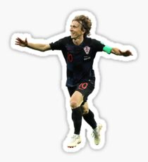 Luka Modric - Croatia real number 10 Sticker