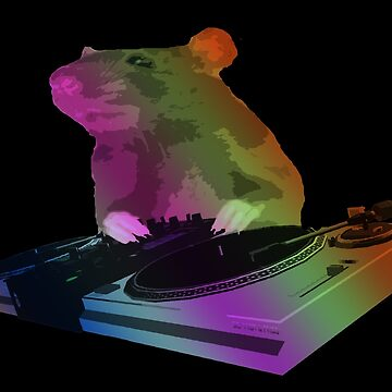 Rat DJ by markstones