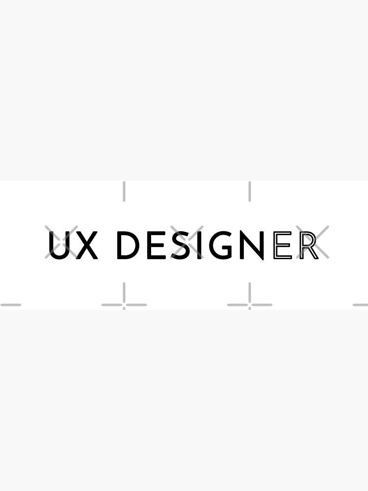 UX Designer (Inverted) by developer-gifts