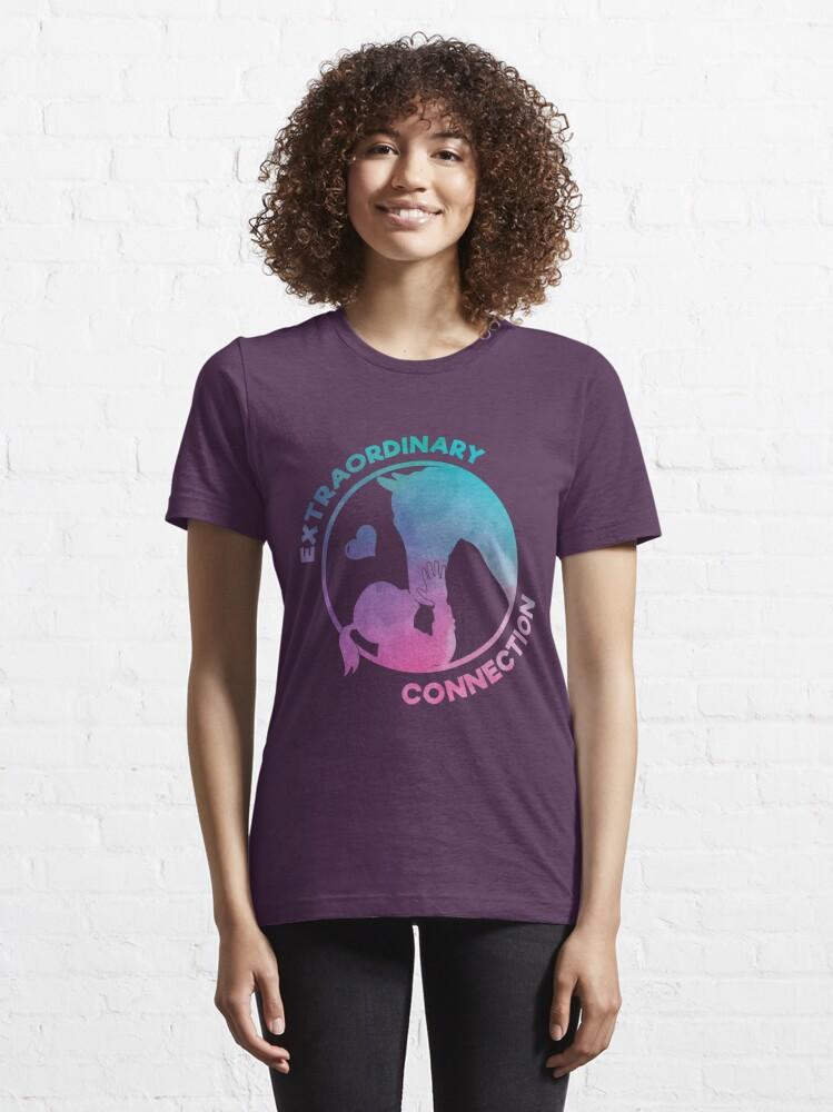 Alternative Ansicht von Extraordinary Connection - Funny Horse Quote Gift Essential T-Shirt