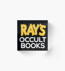 Ray's Occult Books Acrylic Block