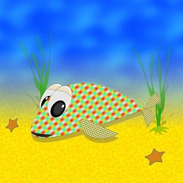 Cute Fish by Almdrs