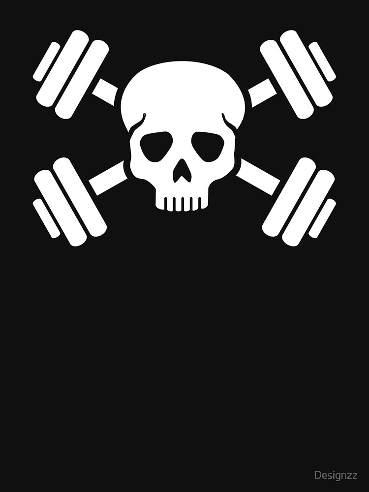 Bodybuilding skull by Designzz
