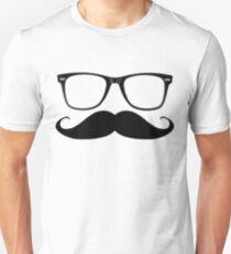Glasses & Moustache Unisex T-Shirt