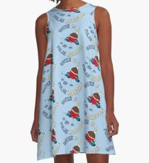 Water Is A Polar Molecule - Funny Chemistry Quote Gift A-Line Dress