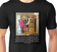 Velociraptor In The Kitchen Unisex T-Shirt
