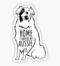 Australian Shepherd Sticker