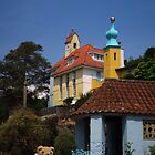Little Ted Searches For No 6 at Portmeirion  by wiggyofipswich