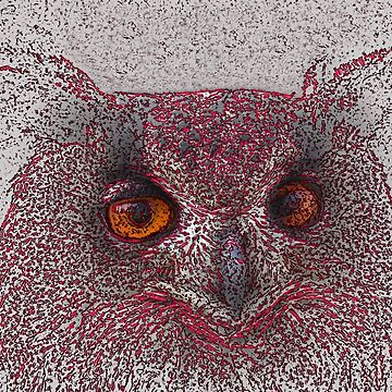Ethereal Owl by Almdrs