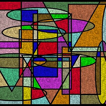 Vitral Abstract Stained Glass by Almdrs