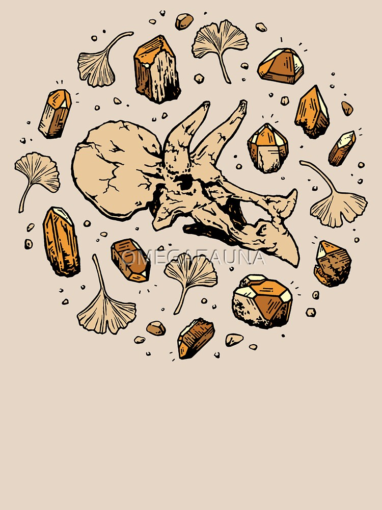 Triceratops Rocks! | Citrine Quartz by OMEGAFAUNA