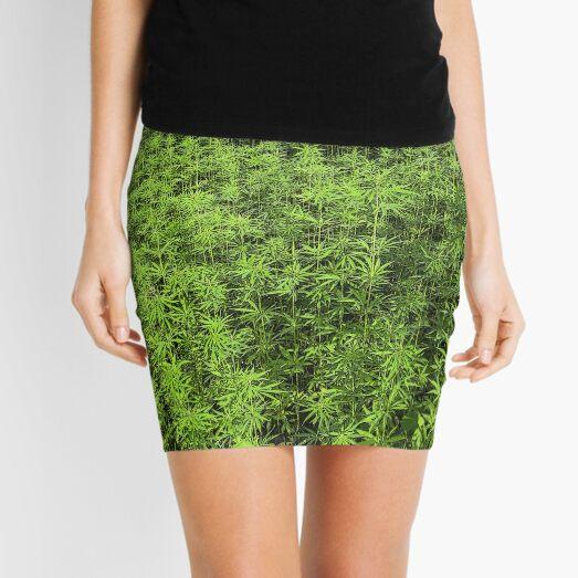 Hemp plantation Mini Skirt
