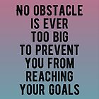 Motivational - No Obstacle Is Too Big by MotivationFlow