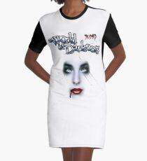 Halloween Shirt , Darkness T-Shirt Kleid